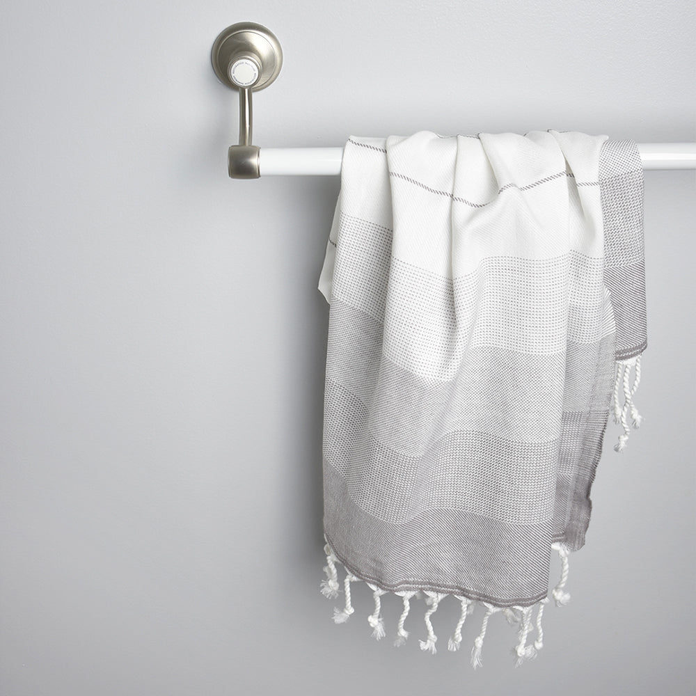 Grey Hand Towel – Ton-Sur-Ton Collection