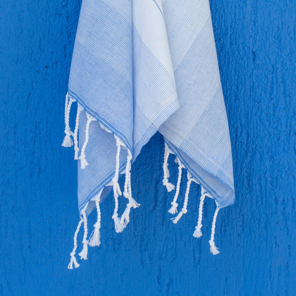 Royal Blue Hand Towel – Ton-Sur-Ton Collection