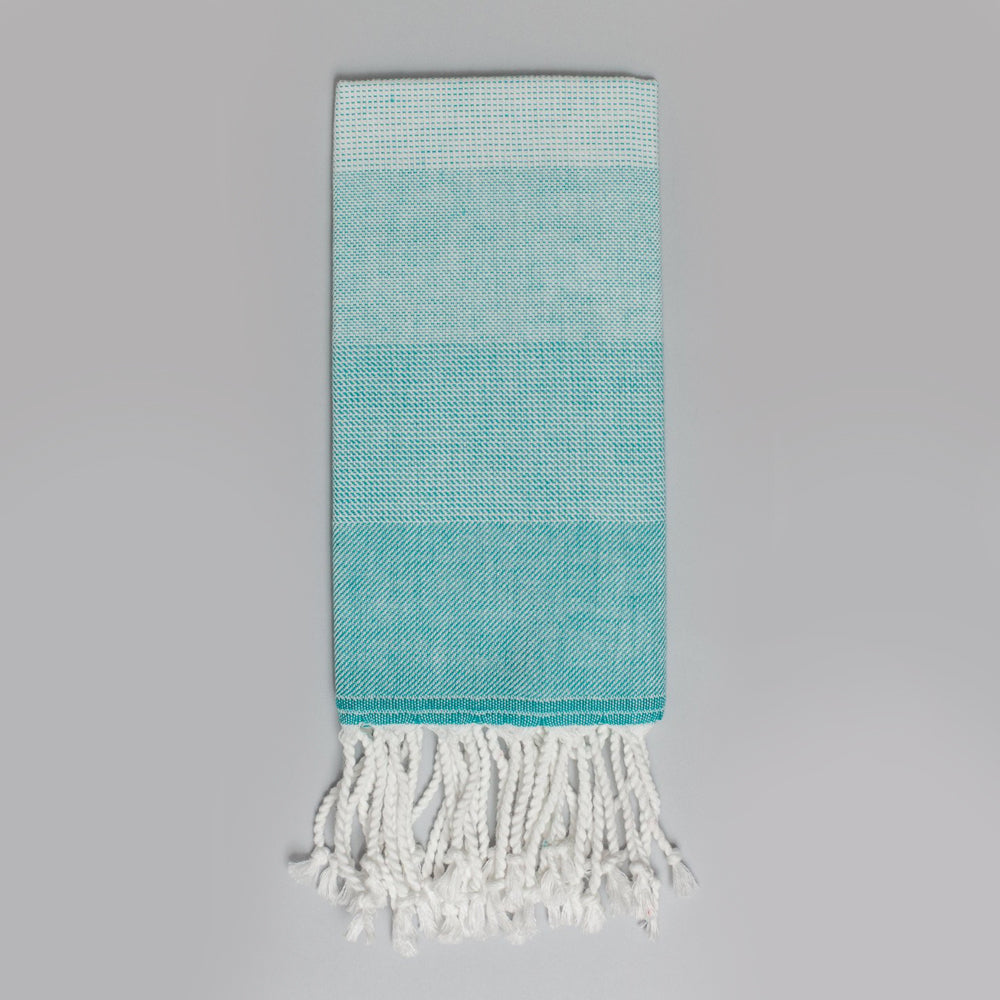 Teal Hand Towel – Ton-Sur-Ton Collection