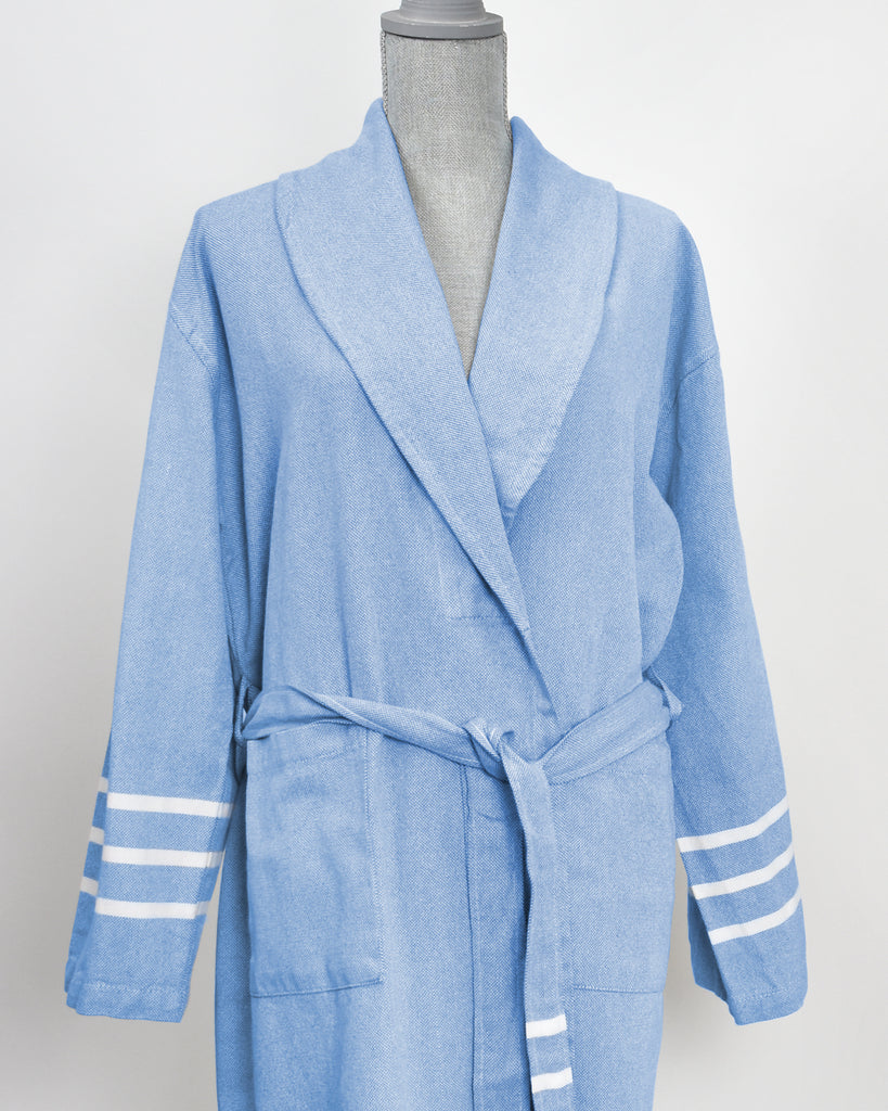 Antiochia Collection Bathrobe – Royal Blue
