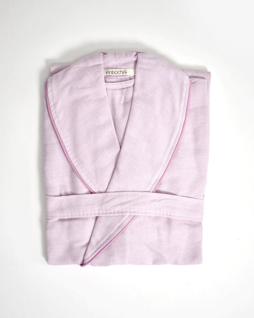 Ton-Sur-Ton Collection Bathrobe – Lilac
