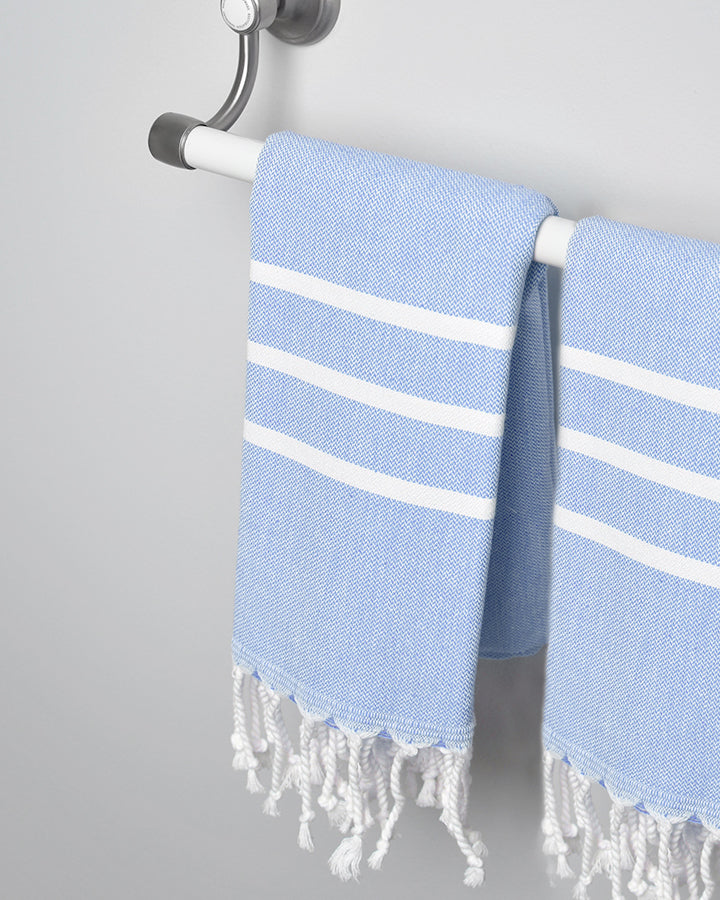 Antiochia Baby Blue Hand Towel