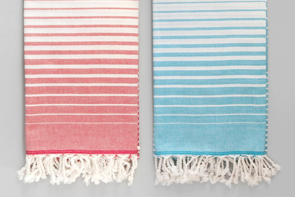 Illusion Bath Towel - white base