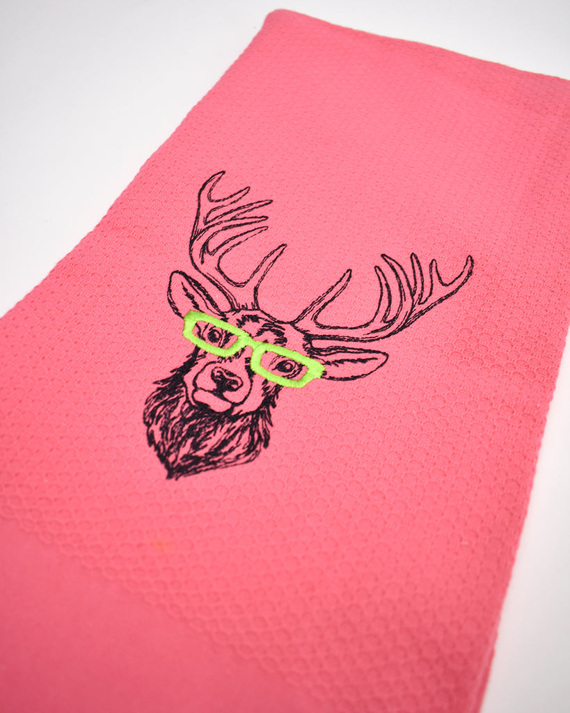 Embroidered Kitchen Towel Set – Holiday