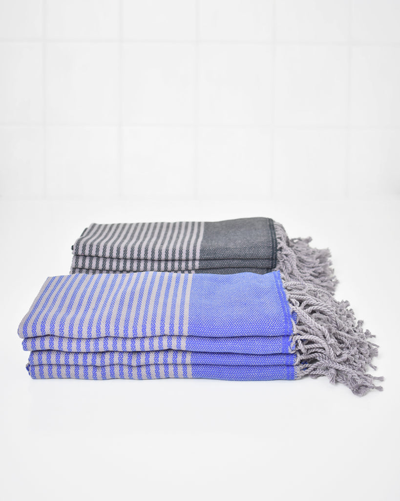 4-Pack Antiochia Grey Collection Hand Towel