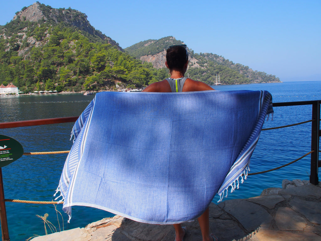 Freya Collection Turkish Bath Towel