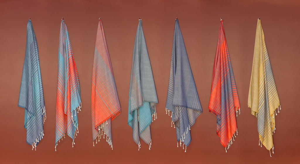 Illusion Turkish Bath Towel collection