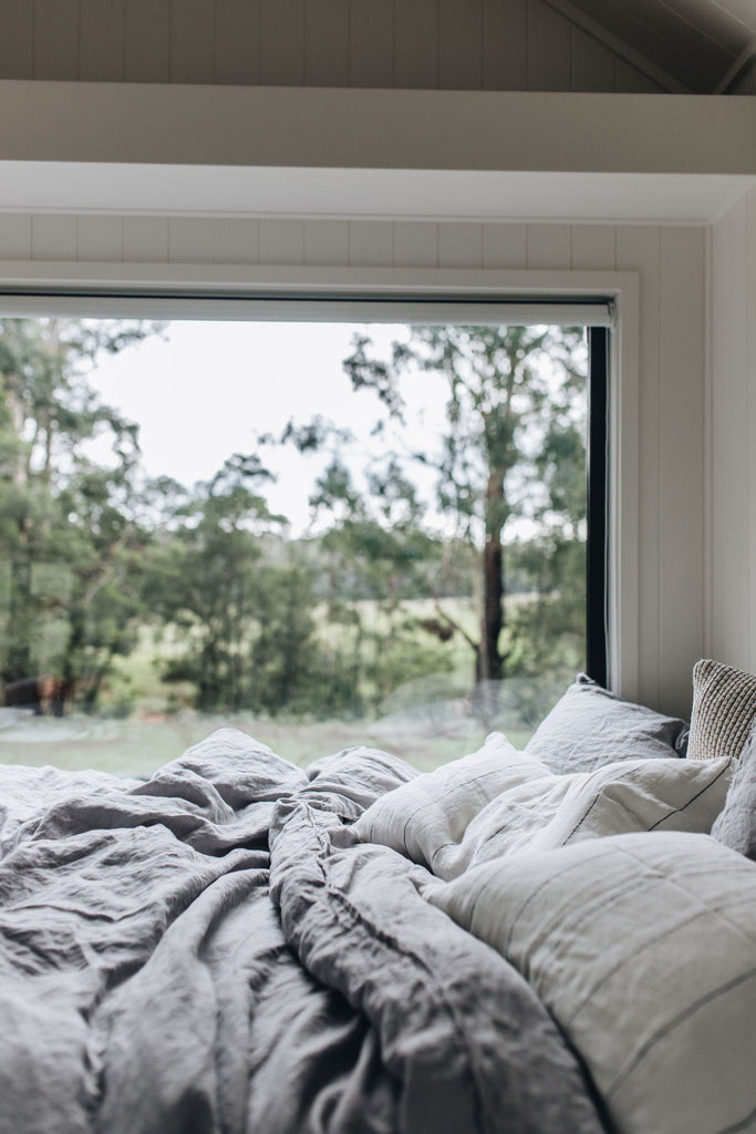 Eadie Lifestyle bed linen at Wildernest tiny house