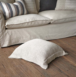 Eadie Lifestyle's Oskar Linen Floor Cushion