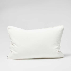 Lynette Velvet Cushion - White