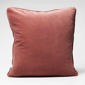 Lynette Velvet Cushion - Desert Rose