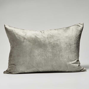Precious Velvet Cushion - Pewter