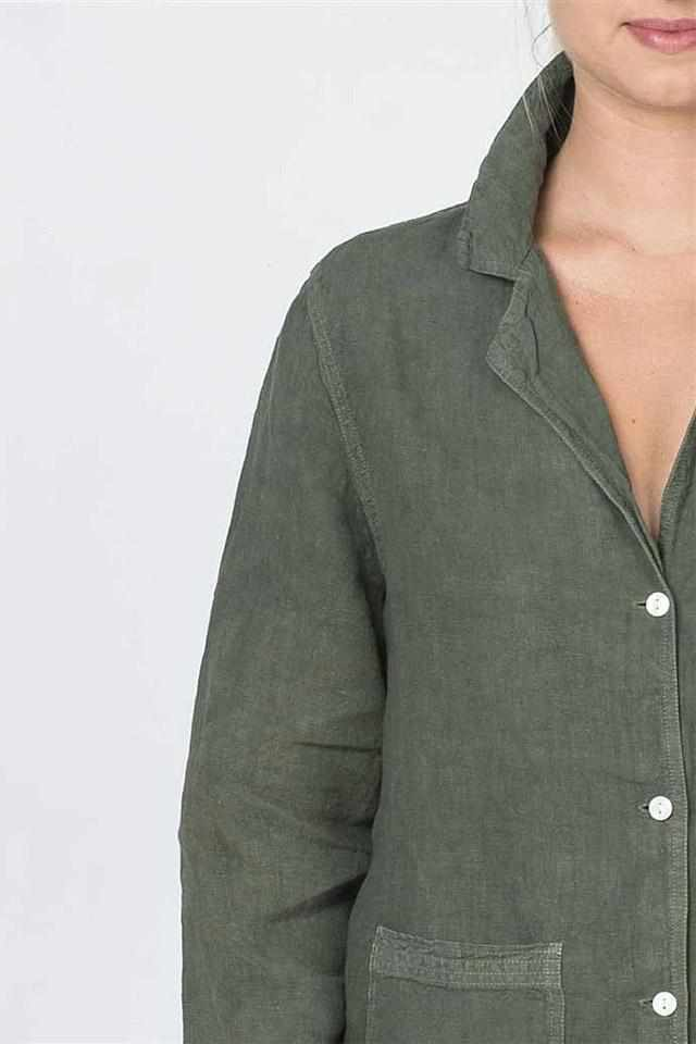 The Essential Linen Shirt - Khaki