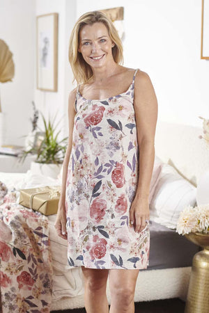 Eadie Lifestyle's Women's Posy Linen Slip Dress