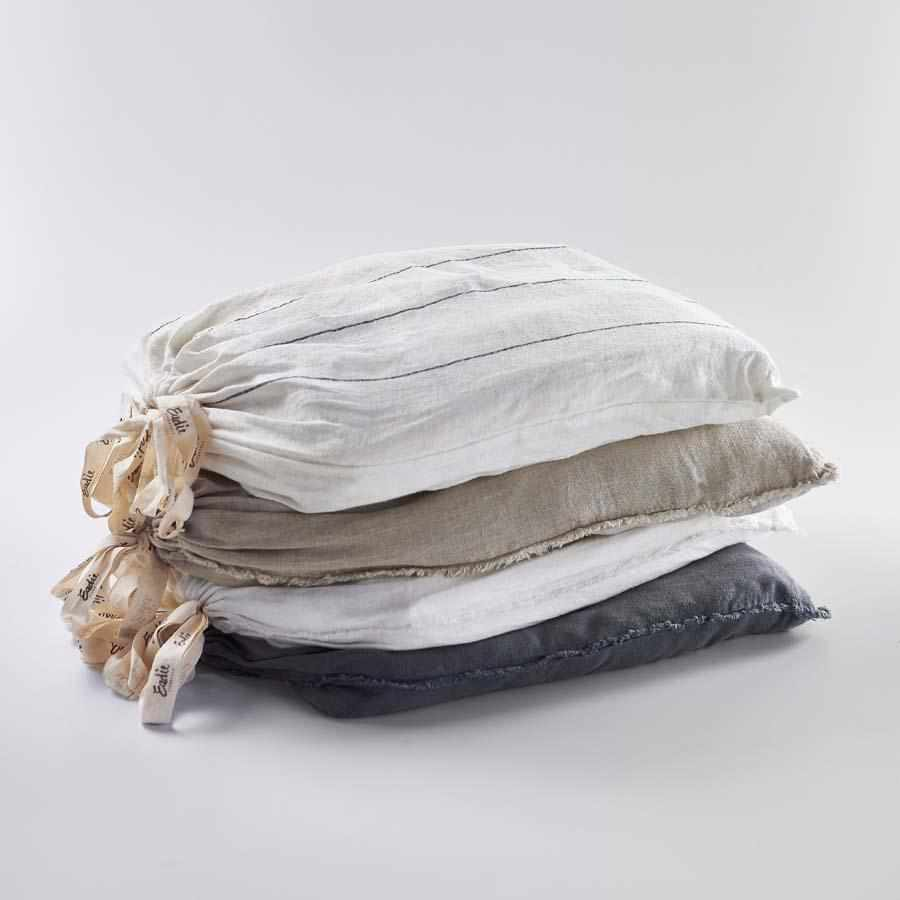 Linen Quilt Cover Set - Carter