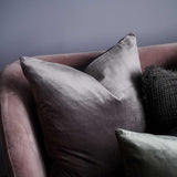 Precious Velvet Cushion with 100% feather filled insert