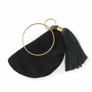 Bangle Purse - Black Apparel Bags and Accessories