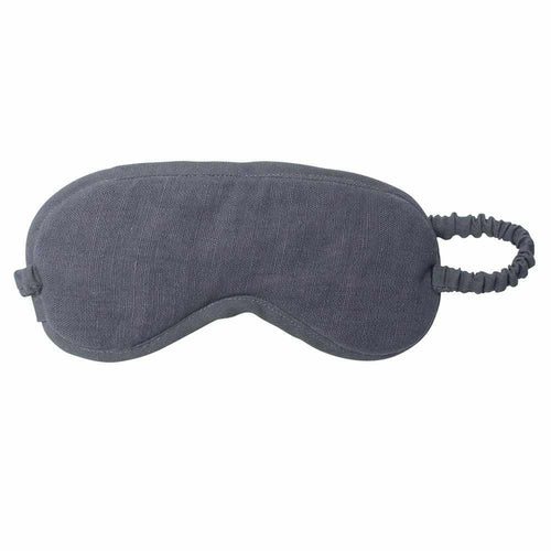 Luca (Linen) Eye Mask - Slate Apparel Bags and Accessories