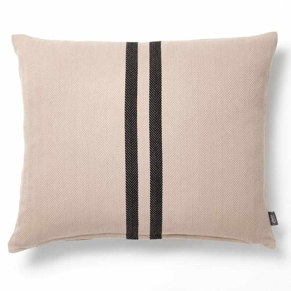 Simpatico Cushion - Natural/Black Cushion Cushion