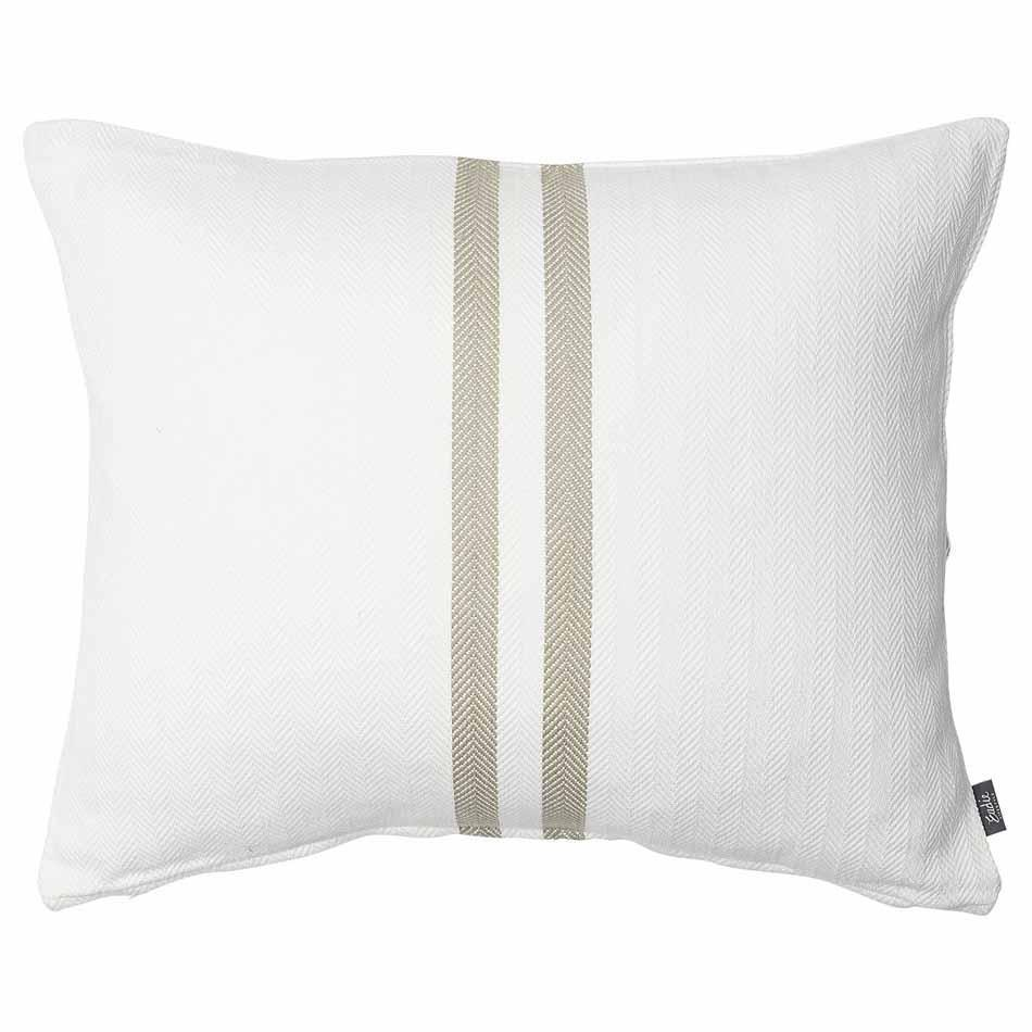 Lavender Simpatico Cushion - Natural White/Natural / Rectangle: 50x60cm
