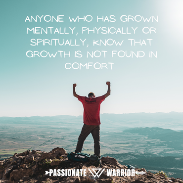Growth is Not Found in Comfort