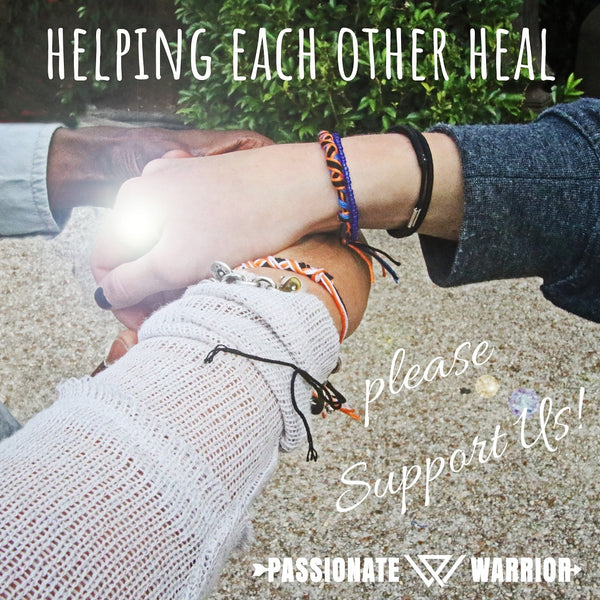 Helping Each Other Heal Passionate Warrior