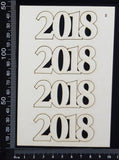 2018 Set - B - White Chipboard