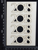 2018 Set - C - White Chipboard