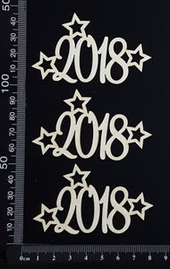 2018 Set - E - White Chipboard