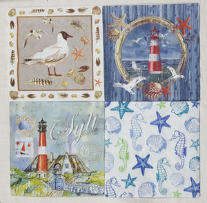 Decoupage Napkins - Set of 4 - (DN-3733)
