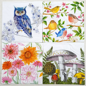 Decoupage Napkins - Set of 4 - (DN-4003)