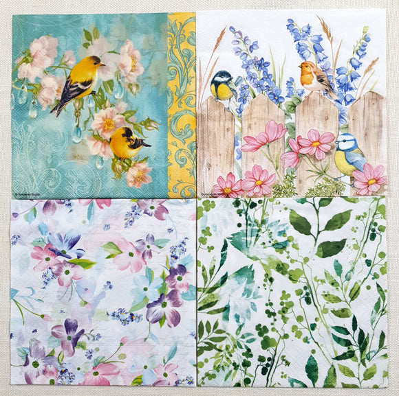Decoupage Napkins - Set of 4 - (DN-4014)