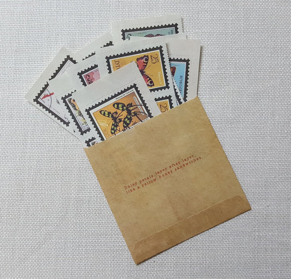 Faux Stamp Ephemera Pack - (FP-4196)