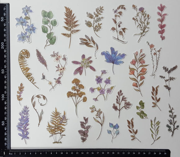 Stickers - Flowers & Leaves - (SP-4221)