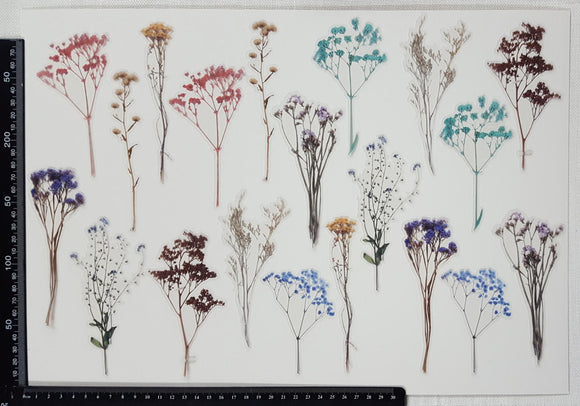 Stickers - Flowers - (SP-4223)