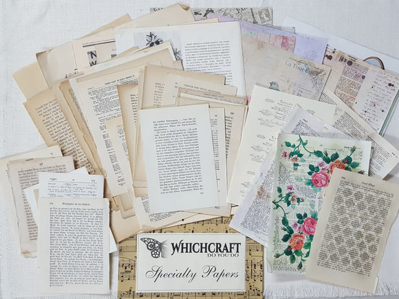 Whichcraft Specialty Papers Pack - (JC-4229)