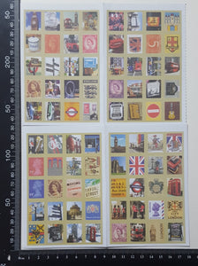 Mini Faux Stamp Stickers - (MS-4320)