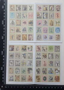 Mini Faux Stamp Stickers - (MS-4323)