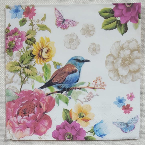 Decoupage Napkin - (DN-8174) - Bird of Paradise