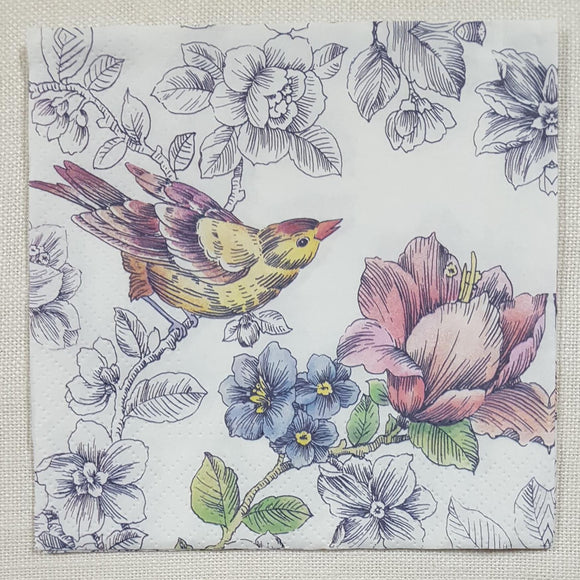 Decoupage Napkin - (DN-8184) - Dream Garden