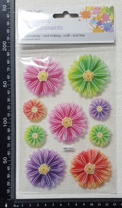 Flower Stickers - (HME-5101)