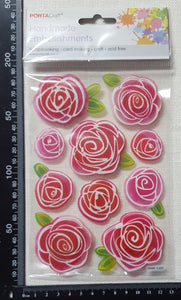 Flower Stickers - (HME-5102)