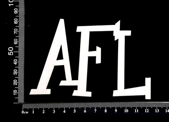 AFL - White Chipboard