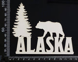 Alaska - A - White Chipboard