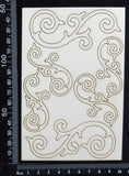 Amanda Flourishes - White Chipboard