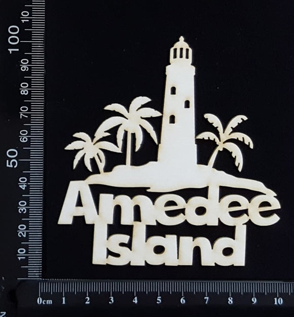 Amedee Island - A - White Chipboard