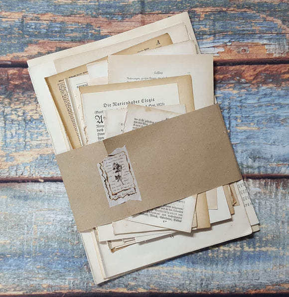 Antique/Vintage Pages Pack