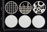 Artist Trading Coin Set - FP - White Chipboard