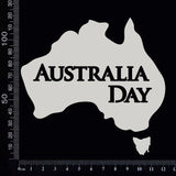 Australia Day - A - White Chipboard