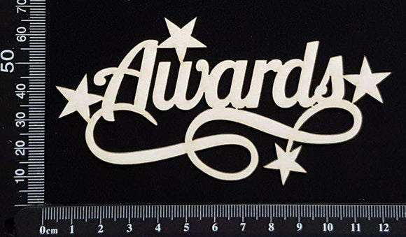 Awards - White Chipboard